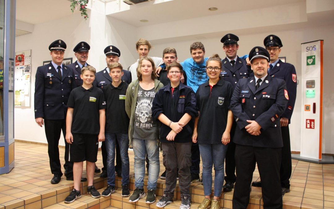 Bayerisches Jugendleistungsabzeichen abgelegt