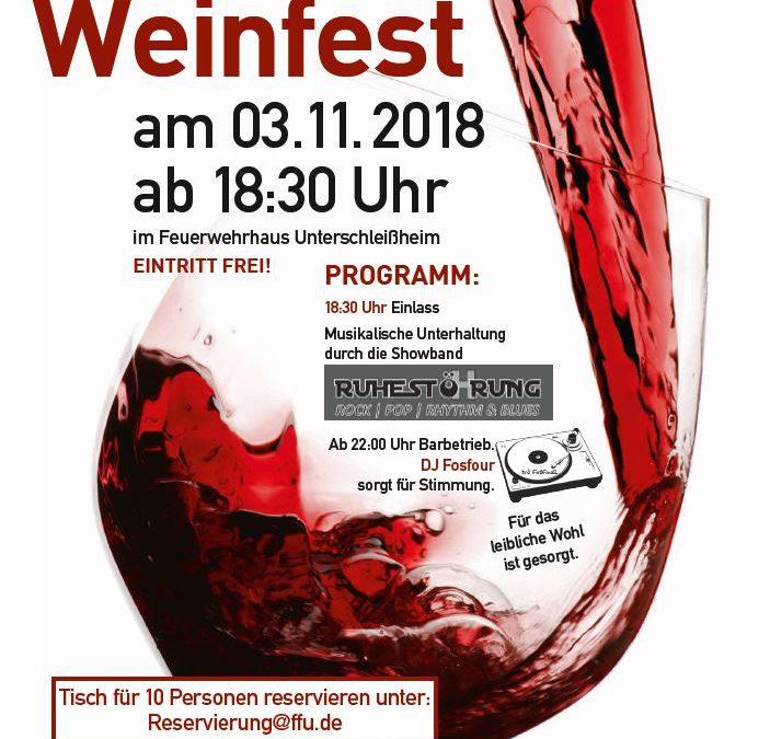 Weinfest 2018