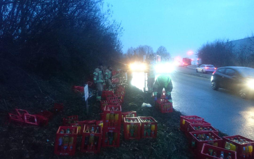 Zum Glück nicht der Weihnachts-Truck – einer der häufigsten Gedanken bei unserem heutigen früh-morgendlichen Einsatz