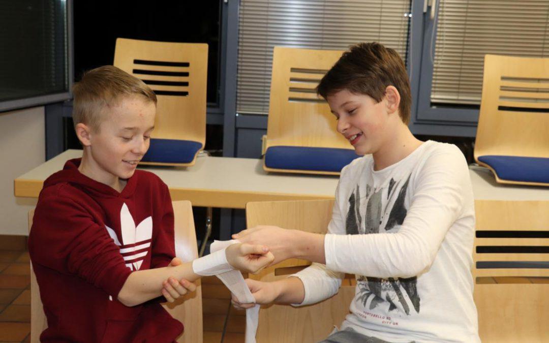 Jugendübung: Erste Hilfe Teil 2