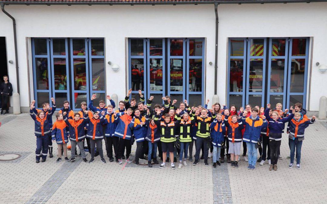 Berufsfeuerwehr-Wochenende 2019 der Jugend