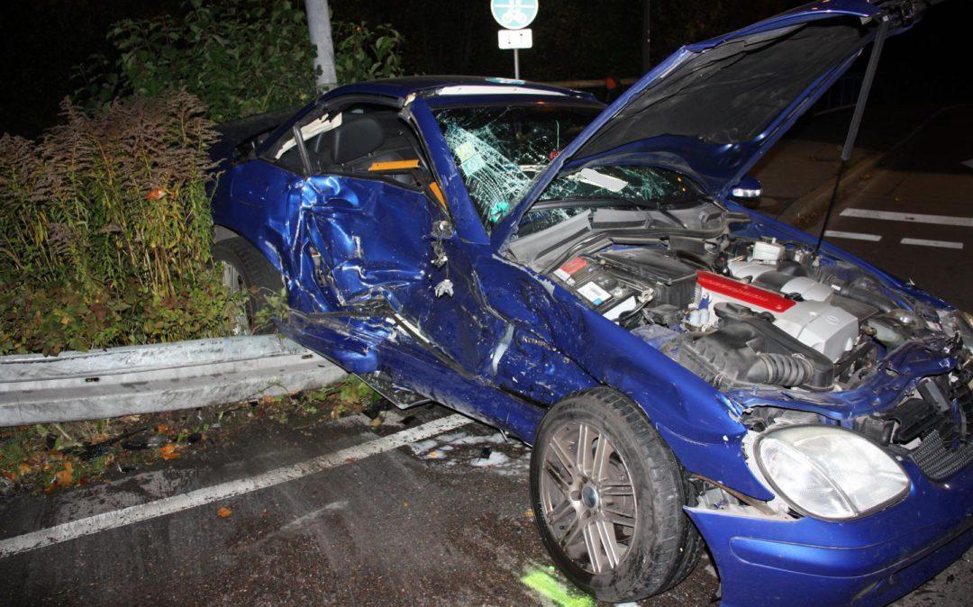 Erneut schwerer Verkehrsunfall auf B13