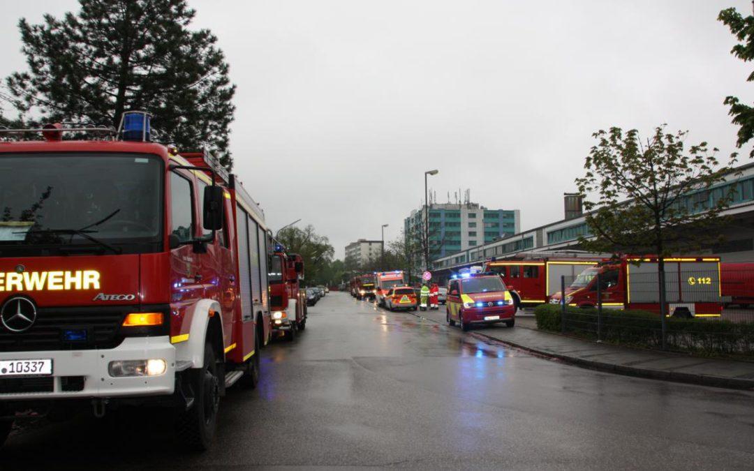 Brand in Arbeiterwohnheim