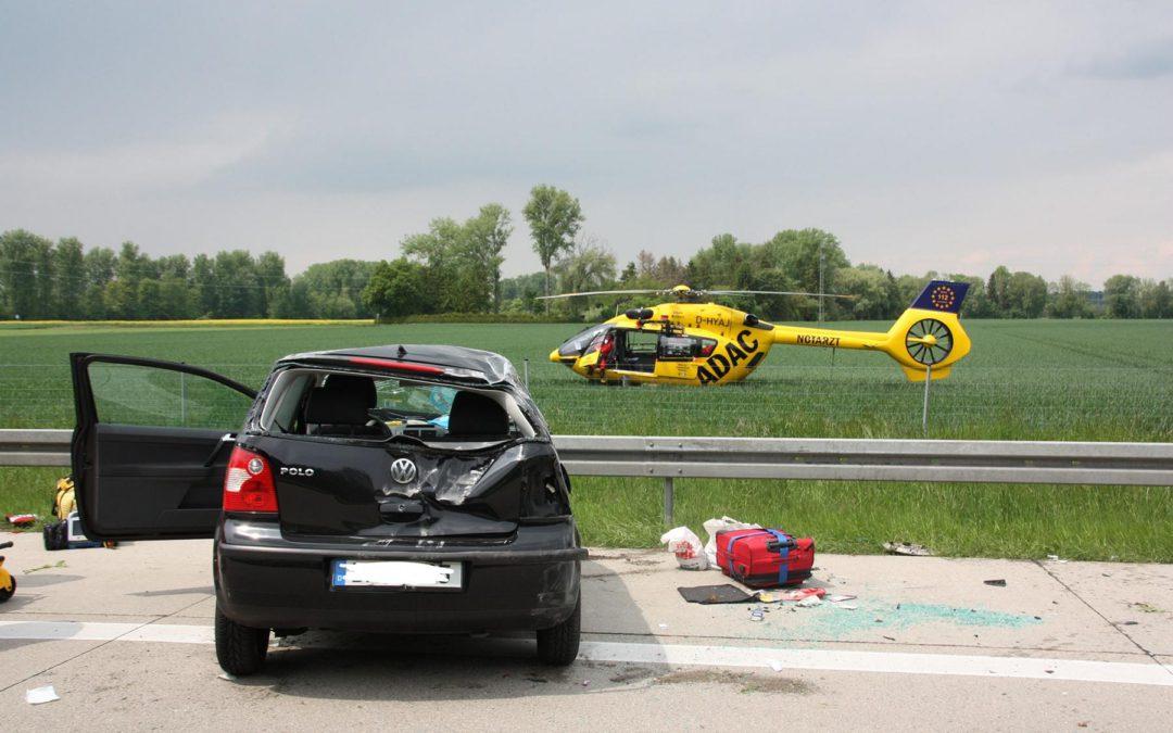 Erneut schwerer Verkehrsunfall auf A92