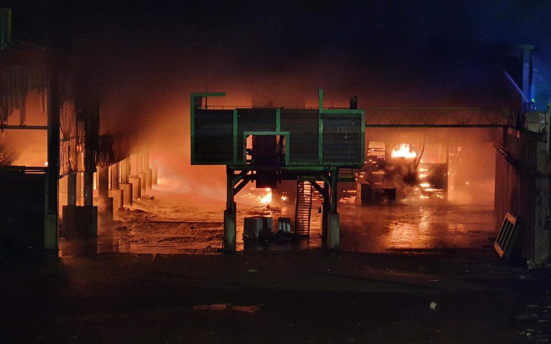 Großbrand Hochbrück