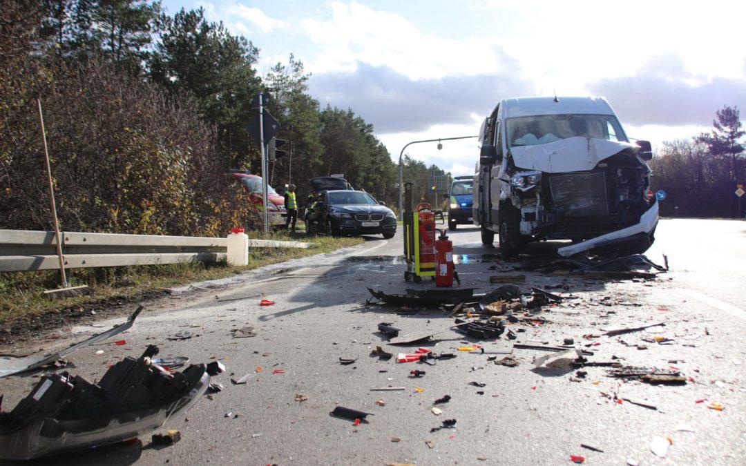 Verkehrsunfall B13