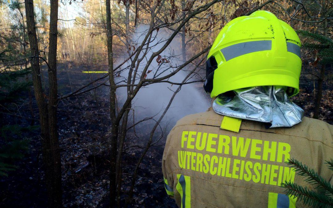 Unterstützung Waldbrand